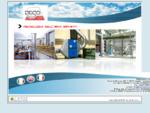De. co Engineering, digestione anaerobica, metanizzazione, banchi e cabine per aspirazione polveri, ...