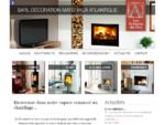 Décoration Matériaux Atlantique - Cheminées, inserts, poêles à bois en Vendée et Charente Maritime
