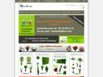 Plante artificielle - Fleurs artificielles, boutique en ligne de plantes artificielles - DECO MUNDO