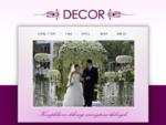 Decor - Studio Usług Dekoratorskich, śluby, wesela, imprezy firmowe