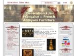 Antiquité Objets de collection Français   French Antiques furniture and Collectibles