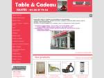 TABLE ET CADEAU - Table et cadeau