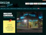 DecorShop - Mobiliário Comercial, expositores, manequins, montras, estabelecimentos, cabides, ...