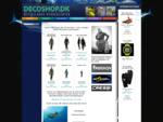 DecoShop. dk - Østjyllands Dykkercenter - Alt til dykning - Udstyr, tilbehør, arrangementer dykker