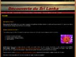 Découverte du Sri Lanka - circuits organisés personnalisés - Accueil