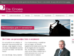 De Croes Adviesgroep BV in Goor - Verzekeringen, hypotheek, pensioen
