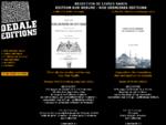 Edition livres rares, reedition livres anciens, eacute;dition sur mesure - Dedale Editions