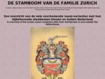 DE STAMBOOM VAN DE FAMILIE ZUURING