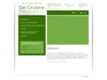 Tuin- en vijveraanleg, verdeling van compost en schors Boomkwekerij De Groene in Aarschot helpt u!