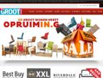 De Groot Wonen - Home page - de grootste keuze in meubels, banken en fauteuils.