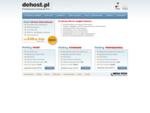 DeHost. pl - hosting dla firm