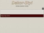Dekoracje Sal - Turek i okolice - Florystyka ślubna - Dekor-Styl - Start