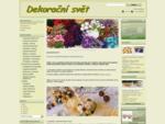 Dekorační svět - vánoce 2013 - Dekoracnisvet. cz