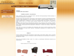 Dekorativ - szwedzkie meble wypoczynkowe meble skórzane sofy fotele kanapy pufy ze skóry - - Dekor