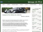 Franse klassiekers Garage de L'est, klassieke auto's, import klassiekers, oldtimers, Lage kilome