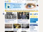 DELFI. lt naujausios žinios, politika, verslas, sportas, pramogos, orai, horoskopai, TV progr