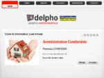 Delpho Didattica Informatica - Corsi di informatica Torino