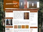 Drzwi drewniane – producent – Dendro-Pinus