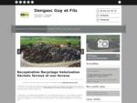 Déchets fers, métaux (collecte, recyclage, valorisation) - Dengasc Guy et Fils à Coufouleux
