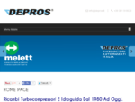 DEPROS - Revisioni e ricambi dal 1980 ad oggi.
