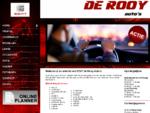 Home | De Rooy auto's