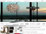 Design belysning, lamper og innredning interiør nettbutikk