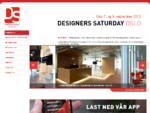 Designers Saturday - Oslo 7. og 8. september 2013