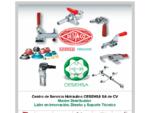 Proveedores de clamps, Destaco, Cesehsa, Clamps manuales, Power clamps, Pinzas manuales, Indus