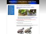 Dětské-přívěsy. cz | prodej | půjčovna | Chariot Cx | Chariot Cougar | Croozer | Vozíky | Tra