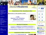 Deutsch lernen in Wien, Deutschkurs Wien - DeutschAkademie