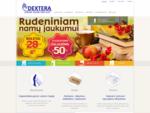 Dextera - ŽaliuzÄ-s, roletai, vartai, langai