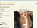 Die Restauratorin - Sigrid Antretter : : Startseite