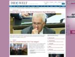 Nachrichten und aktuelle Informationen aus Politik, Wirtschaft, Sport und Kultur - DIE WELT