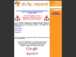 DI. FA. RECORD di Fabio Locorotondo agenzia di comunicazione e pubblicità avellino, benevento, ...