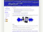 digitalLAB cyfrowe przetwarzanie dźwięku, odszumianie, rekonstrukcja i edycja nagrań, czyszczenie
