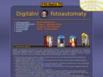 Rychlé foto Digitální fotoautomaty PRO-MATIC ČR