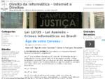 Direito da Informática - Internet e Direitos