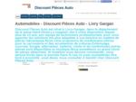 Automobiles (pièces, accessoires) - Discount Pièces Auto à Livry Gargan