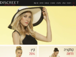 אופנת נשים   בגדי נשים - דיסקרט