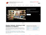 Retail Display Cabinets Including Glass Display Cabinets – Slimline