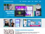 Display4media. se - Din samarbetspartner inom digital skyltning (digital signage)
