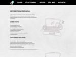 Internetines svetaines, logotipai, web dizainas, internetines parduotuves, e-parduotuves, preki