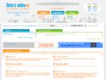 Inzertní a informační web - Dobrý sluha ZDARMA inzerce, přehled pořádaných akcí, adresář firem