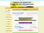 Cabinet de Médecine Générale des Diacquenods