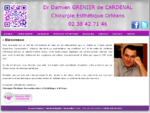 Dr Damien GRENIER de CARDENAL chirurgie et medecine esthetiques Orleans