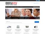 Docuvan | Docuvan Home | Convenient On-Site Document Scanning
