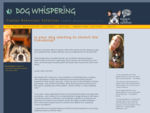 Dog Whispering - Canine Behaviour Solutions in Perth, W. A.