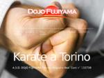 Dojo Fujiyama - Shotokan Karate a Torino