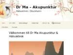 Dr Ma Akupunktur Hälsoklinik i Stockholm
