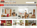 Pohištvo dnevne sobe, spalnice, predsobe, kuhinje, omare - DOM POHIŠTVO
